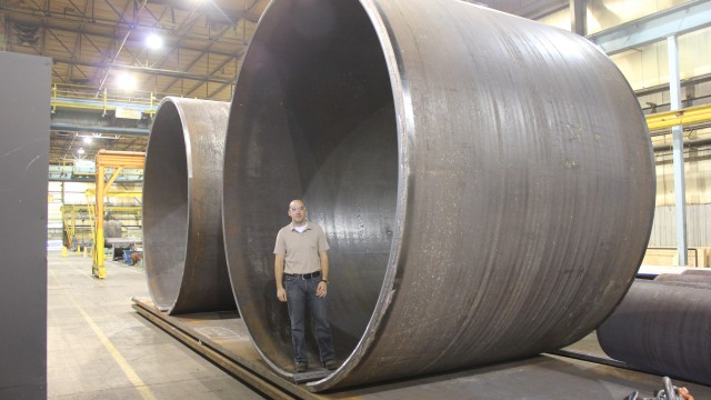 Large Steel Diameter Shell