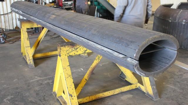 Forming Steel Columns