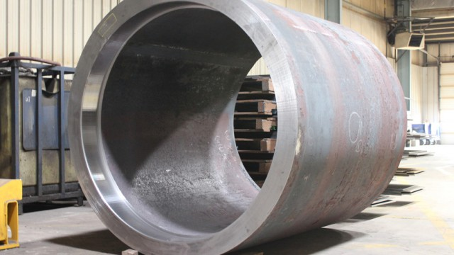 Machined Steel Cylinder